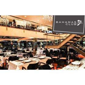 Cena o almuerzo VIP de tres pasos en Bahamas Costanera