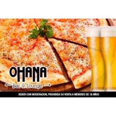 Picada mexicana + cerveza para dos o cuatro en Ohana Bar & Lounge