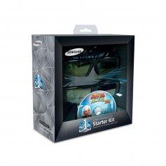 Lentes 3D Samsung x2 ANTEOJOS + PELÍCULA BLU-RAY 3D