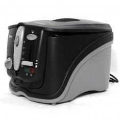 Freidora eléctrica OSTER 3l c/ filtro NEGRA