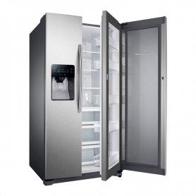 Heladera Samsung SIDE BY SIDE + FOOD SHOWCASE 703 LTS