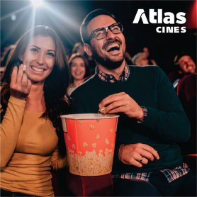 Atlas Cines - Entrada para salas 2D
