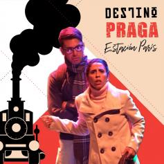 """Entradas de teatro SIN CARGO - para la obra """"Destino Praga, Estación París"""" en Teatro La Mueca"""