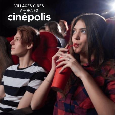 Village Cines - Entrada para salas 2D todos los dias.