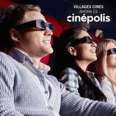 VILLAGE Cines - Entrada para salas 3D todos los días de la semana