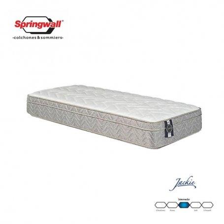 Colchón Springwall 1 y 1/2 plazas Linea Advance Jackie (190x100x26)