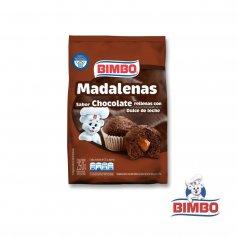 MADALENAS CHOCOLATE RELLENAS DE DULCE DE LECHE 220GR BIMBO