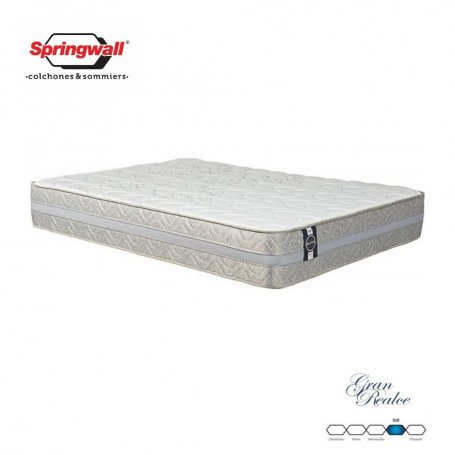 Colchón Springwall King Size Linea Advance Gran Realce (200x200x28