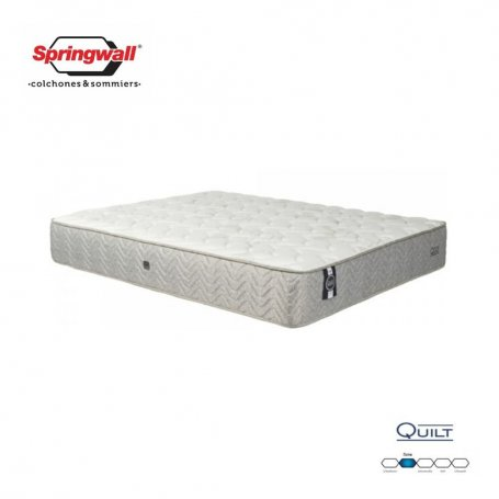 Colchón Springwall Queen Size Linea Advance Quilt (200x160x29)