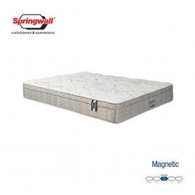 Colchón Springwall 2 Plazas Linea Exclusive Magnetic (190x140x29)