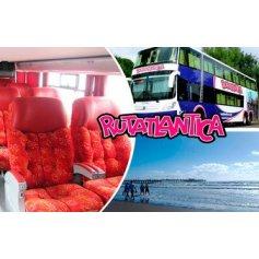 Partido de la Costa: 1 pasaje de ida o vuelta en bus - RUTATLANTICA