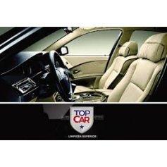 TOP CAR: Lavado interior de butacas + alfombras de goma + aspirado de alfombras de tela + limpieza de plástico