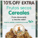 Frutos secos, cereales, fruta desecada…y mucho más! Hacé tu pedido y recibilo en tu casa