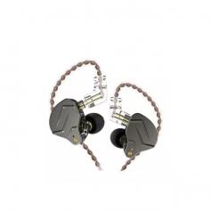 Auriculares In Ear Monitoreo Kz Zsn Pro Dual Drive Microfono