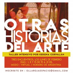 Cursos de historia del arte en La Olla Roja