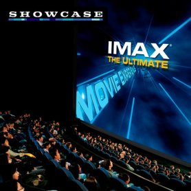 Cines Showcase: Entrada sala IMAX.