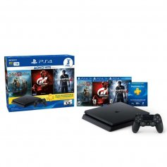 PlayStation 4 Slim + 3 JUEGOS HITS 3