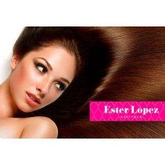 Botox capilar con tratamiento de pigmento en Ester Lopez.